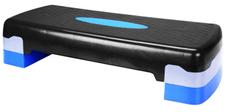 Avenio teretana klupa za aerobik/step, 10-15 cm, plavo-crna