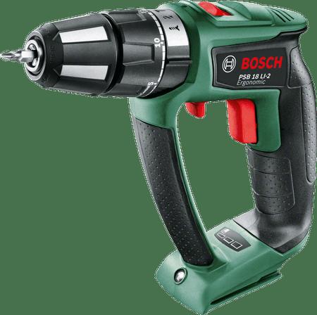 Bosch PSB 18 LI-2 Ergonomic - Bez akumulátoru a nabíječky