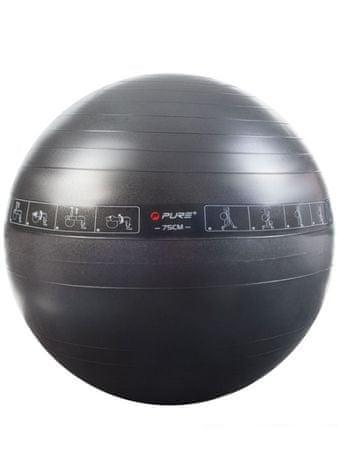 Pure2Improve žoga za gimnastiko, 75 cm