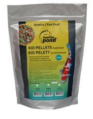 Healthy Pond Koi pelety plovoucí červené/zelené 2 mm, 3 l (X034)