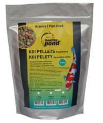Healthy Pond Úszó etetőanyag piros/zöld 5mm 10L