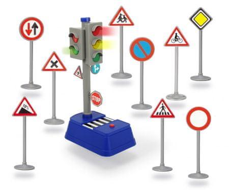 DICKIE Funkčný semafor s príslušenstvom