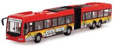 DICKIE Autobus City Express 46 cm - czerwony