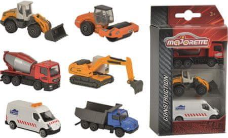 Majorette delovna vozila, 3 kosi