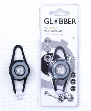 Globber LED svjetlo za romobil, crno