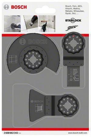 Bosch 3-delni komplet za ploščice (2608662342)