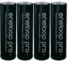 Panasonic Eneloop punjive baterije Pro AA (4 komada)