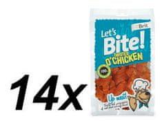 Brit Let's Bite Twister o'Chicken 14x80 g