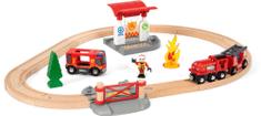 Brio Tűzoltós játékvonat készlet