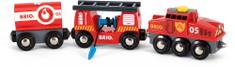 Brio Tűzoltós mentővonat