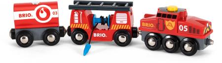 Brio reševalni vlak za gašenje požarov