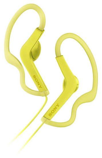 SONY MDR-AS210Y, žltá