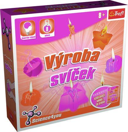 Trefl Science 4 U Gyertyakészítő játékkészlet