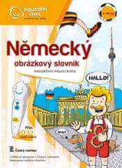 Albi KOUZELNÉ ČTENÍ Kniha Německý obr. Slovník