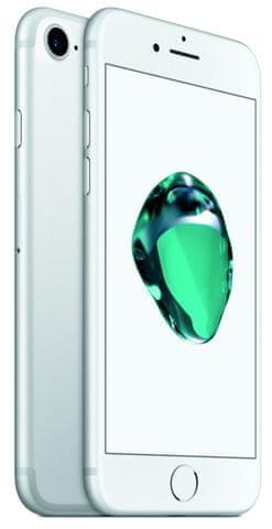 iPhone 7, wyświetlacz Retina HD, A10 Fusion, trwały wydajny telefon, IP67, NFC, dźwięk stereo