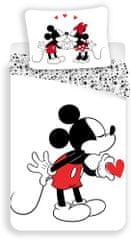 Jerry Fabrics Povlečení Mickey heart