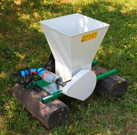 TIP drobilec sadja na električni vrtalnik