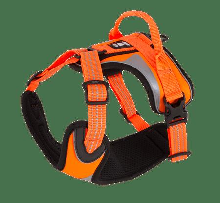 Hurtta oprsnica Lifeguard Dazzle 100-120cm, oranžna