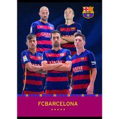 Barcelona biljeznica igrači BUS A4 (09622)