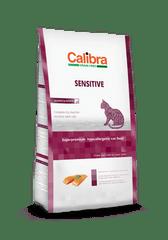 Calibra GF bezzbożowa karma dla dorosłych wrażliwych kotów Sensitive Salmon 7kg