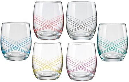 Crystalex čaše Ellipse, 300 ml, 6 komada