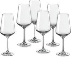 Crystalex poháre na víno Sandra 450 ml, 6 ks