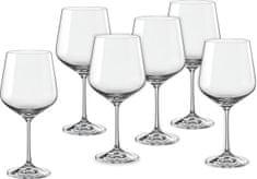 Crystalex kozarci za vino Sandra, 570 ml, 6 kosov