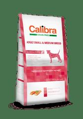 Calibra karma dla psów dorosłych małych/średnich Łosoś