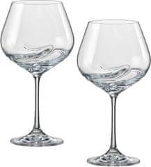 Crystalex poháre na víno Turbulence 570 ml, 2 ks
