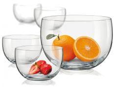Crystalex set steklenih posod, 5 kosov