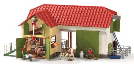 Schleich Farm játékfigurákkal
