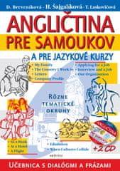Kolektív: Angličtina pre samoukov a pre jazykové kurzy + 2 CD