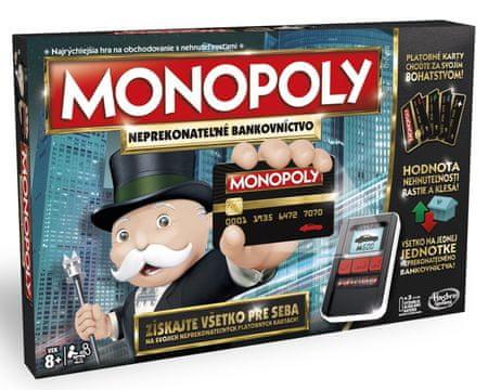 HASBRO Monopoly E-banking SK