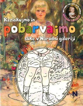 Jelka Melik, Mateja Jeraj, Nata B.: Raziskujmo in pobarvajmo slike v Narodni galeriji
