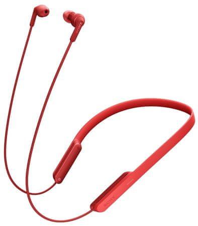 SONY MDR-XB70BT Fülhallgató, Piros