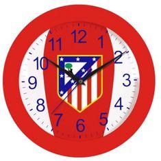 Atletico Madrid stenska ura (08899)