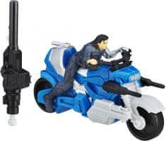 Avengers Winter Soldier Játékfigura járművel