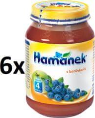 Hamánek S čučoriedkami 6x190g