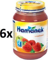 Hamánek S malinami 6x190g