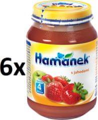 Hamánek S jahodami 6x190g