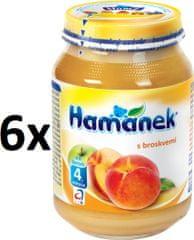Hamánek S broskvemi 6x190g