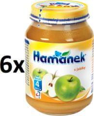 Hamánek S jablkami 6x190g