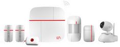 Patrol Hawk Vcare osnovni komplet Smart WiFi GSM alarma, komplet B