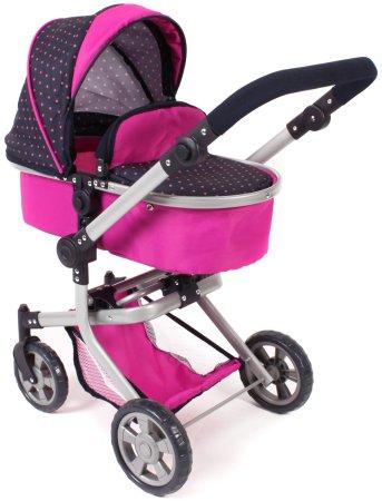 Bayer Chic Składany wózek Mika, różowo-czarny