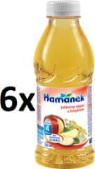 Hamánek Jablečný nápoj s fenyklem 6x500ml