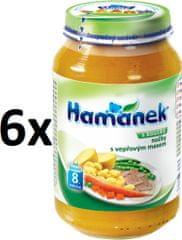 Hamánek Halušky s bravčovým mäsom 6x230g