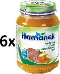 Hamánek Jahňacie soté s mrkvou a zemiakovou kašou 6x190g
