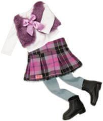 Our Generation Ubranko dla lalki, różowa spódniczka