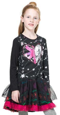 Desigual sukienka dziewczęca 104 czarny