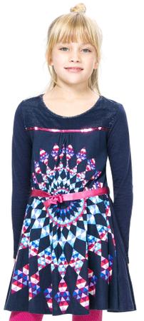 Desigual lány ruha 116 kék